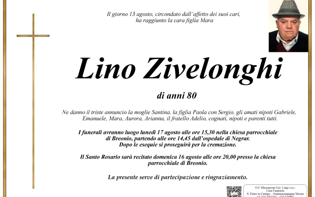 ZIVELONGHI LINO