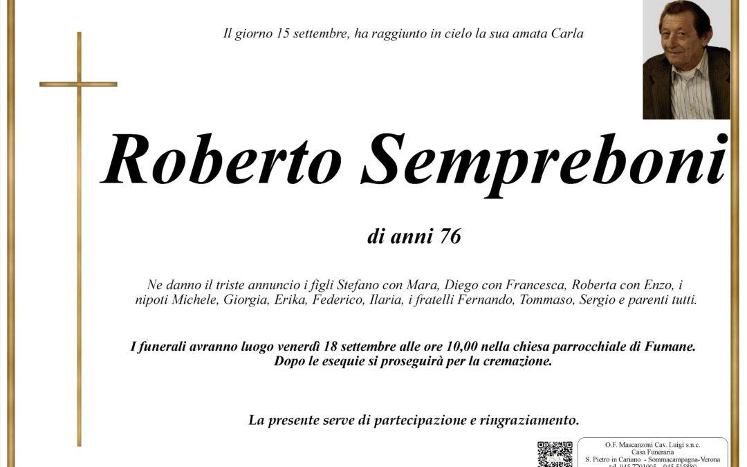 SEMPREBONI ROBERTO