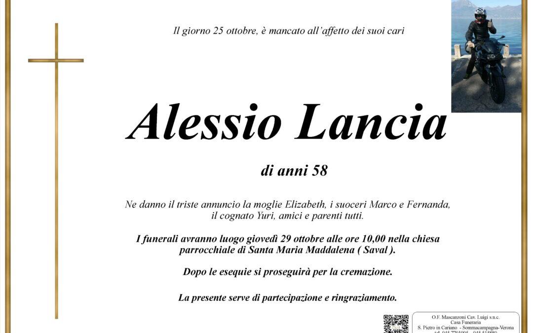 LANCIA ALESSIO