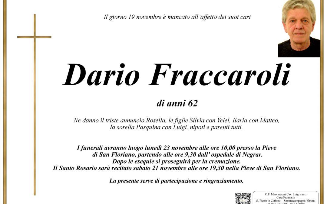 FRACCAROLI DARIO