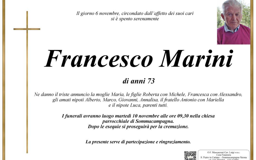 MARINI FRANCESCO
