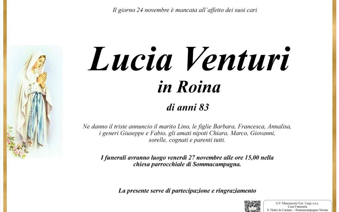 VENTURI LUCIA IN ROINA