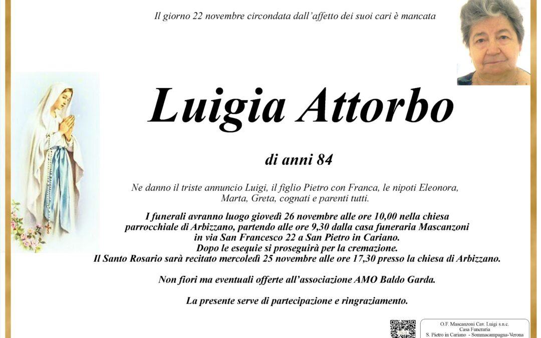 ATTORBO LUIGIA