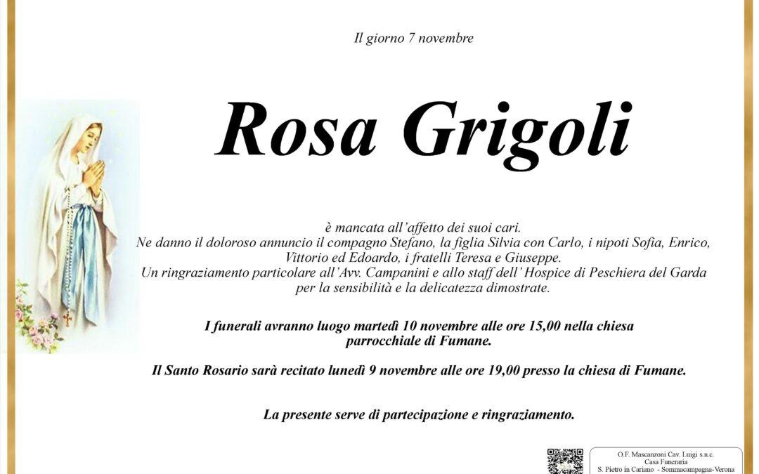 GRIGOLI ROSA