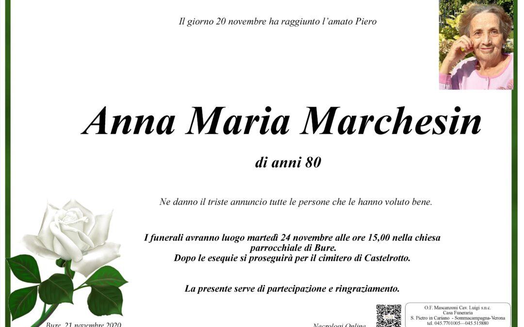 MARCHESIN ANNA MARIA